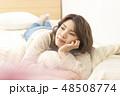 リラックス 休日 女性の写真 48508774