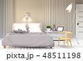ベッド 寝台 寝床のイラスト 48511198