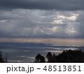 後光が差した様な空と海 48513851