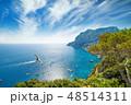 Marina Piccola and Monte Solaro, Capri, Italy 48514311