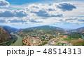 Aerial view of Mtskheta, Georgia 48514313