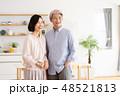 夫婦 キッチン 台所の写真 48521813