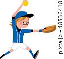 ソフトボール 48536418