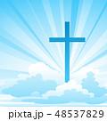 復活祭 イエス イエスキリストのイラスト 48537829