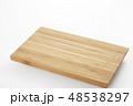 natural wooden board 48538297