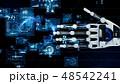 ロボット 手 技術のイラスト 48542241