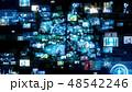 ソーシャルネットワーク テクノロジー オンラインのイラスト 48542246