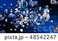 ビジネス ネットワーク テクノロジーのイラスト 48542247