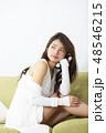 人物 女性 美容の写真 48546215