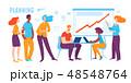 人々 人物 ビジネスのイラスト 48548764