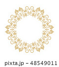 バロック様式 柄 模様のイラスト 48549011