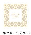 バロック様式 柄 模様のイラスト 48549166