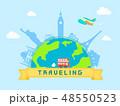 여행 이벤트 일러스트 48550523