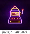 カジノ カジノの 標識のイラスト 48550746