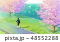 桜と新生活 48552288