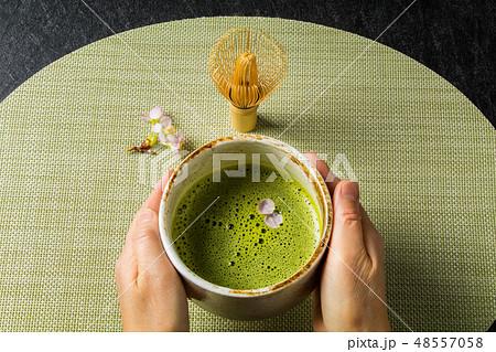 お茶 抹茶 green tea made in Japan 48557058