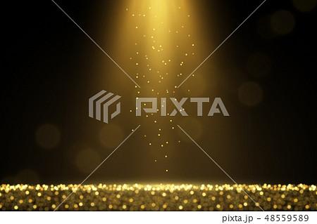 Festive sparkling lights magical background 48559589