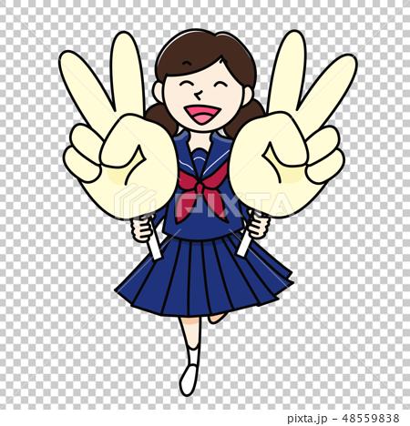 初中生高中女生雙片 48559838