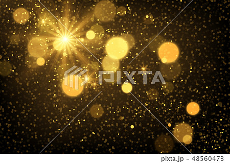 Shiny particles and sparkles magical background 48560473