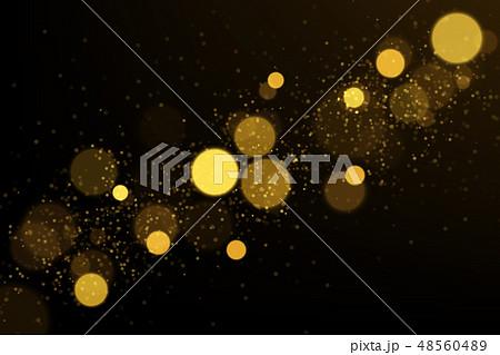 Gold bokeh lights explosion 48560489