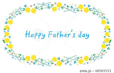 素材-父の日(バラフレーム)5-1 48563553