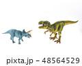 恐竜 ティラノサウルス トリケラトプス 対決  48564529