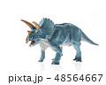 恐竜 トリケラトプス 48564667
