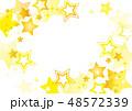星 スター 背景のイラスト 48572339