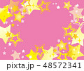星 スター 背景のイラスト 48572341