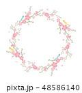 桜 花 春のイラスト 48586140