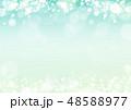 新緑 キラキラ イメージ 背景 48588977