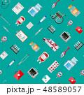 シームレス パターン 柄のイラスト 48589057