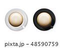 マグカップ コーヒーマグ ベクトルのイラスト 48590759