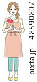 母の日 カーネーション ベクターのイラスト 48590807