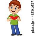 少年 マンガ 漫画のイラスト 48591637