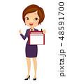 女子 ビジネス 日々のイラスト 48591700