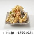 天ぷら盛合わせ 48591981