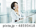ビジネス ビジネスウーマン 女性の写真 48593418