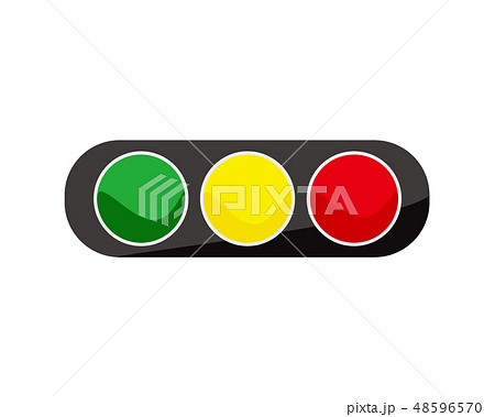 信号 サイン 横断歩道 信号機 48596570