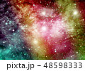 バックグラウンド 宇宙 ぎんがのイラスト 48598333