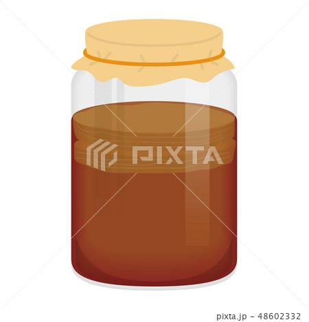紅茶キノコ(コンブチャ)のイラスト 48602332