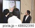 ビジネス プレゼンテーション 女性の写真 48602390