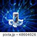 電池 蓄電池 エコのイラスト 48604026