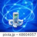 電池 蓄電池 エコのイラスト 48604057