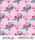 フラワー 花 フローラルのイラスト 48605182
