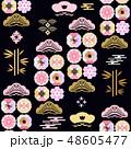 桜 サクラ ジャパニーズのイラスト 48605477