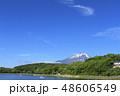 富士山 晴れ 風景の写真 48606549