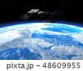 ISS国際宇宙ステーション perming3DCGイラスト素材 48609955
