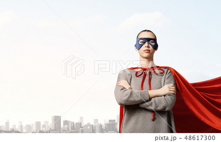 She is super woman 48617300