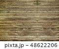 木目背景素材 / 色褪せたウッドデッキ風 48622206